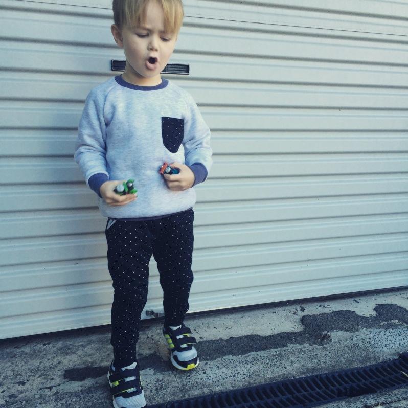Mini Hudson Pants