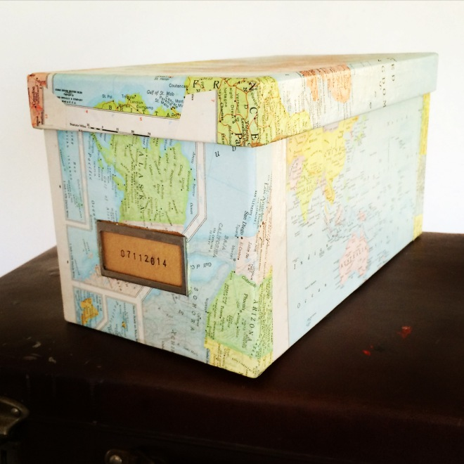 The collage box