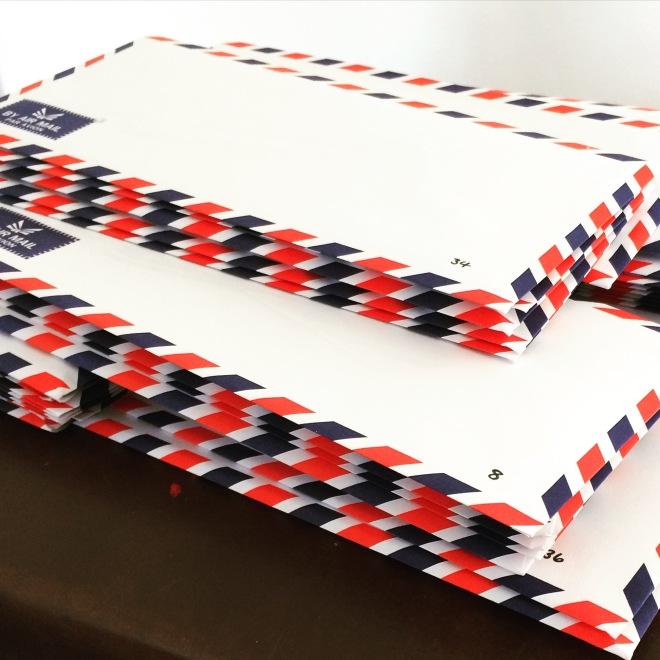 Thai Airmail envelopes