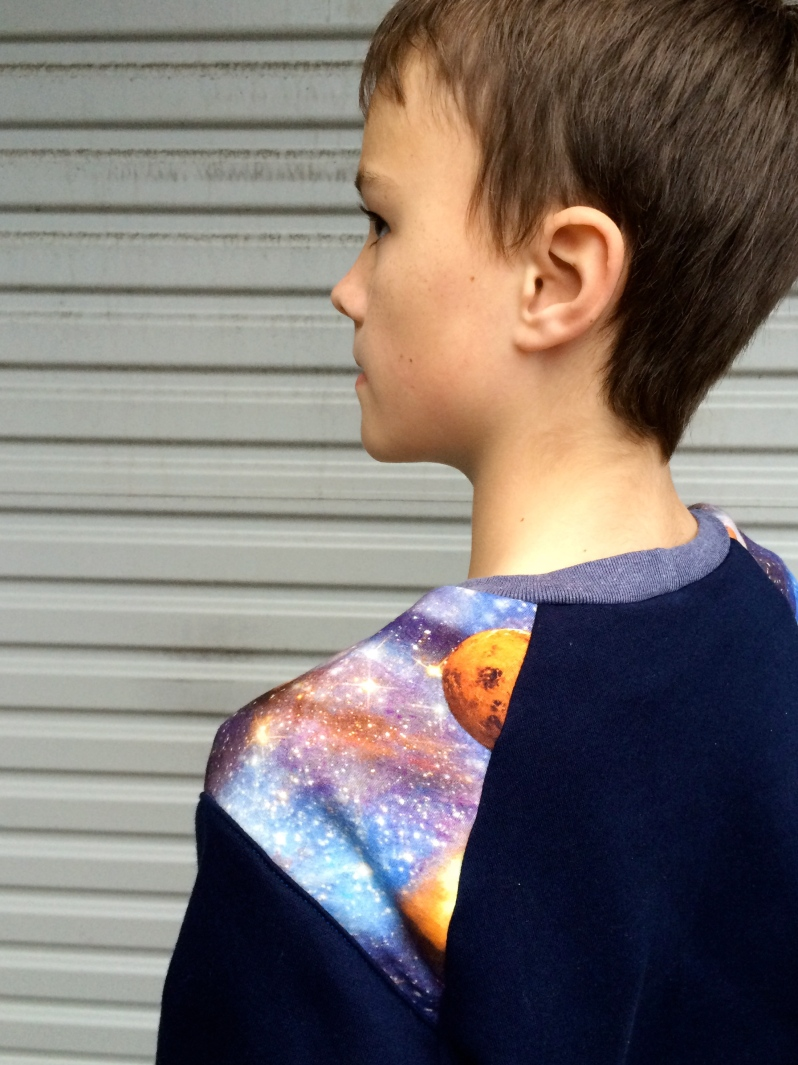 Planets on one shoulder....