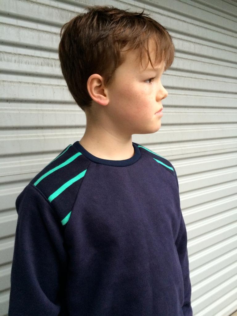A self-drafted raglan sleeve sweatshirt - this one has endless possibilities